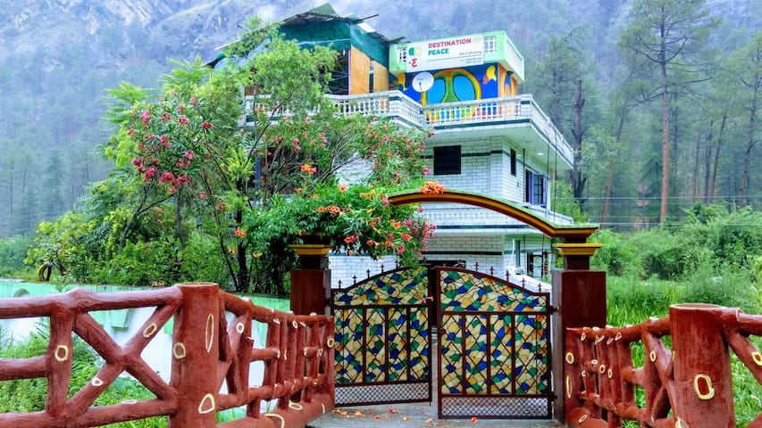 Destination Of Peace, Kasol (Double-bed Rooms)
