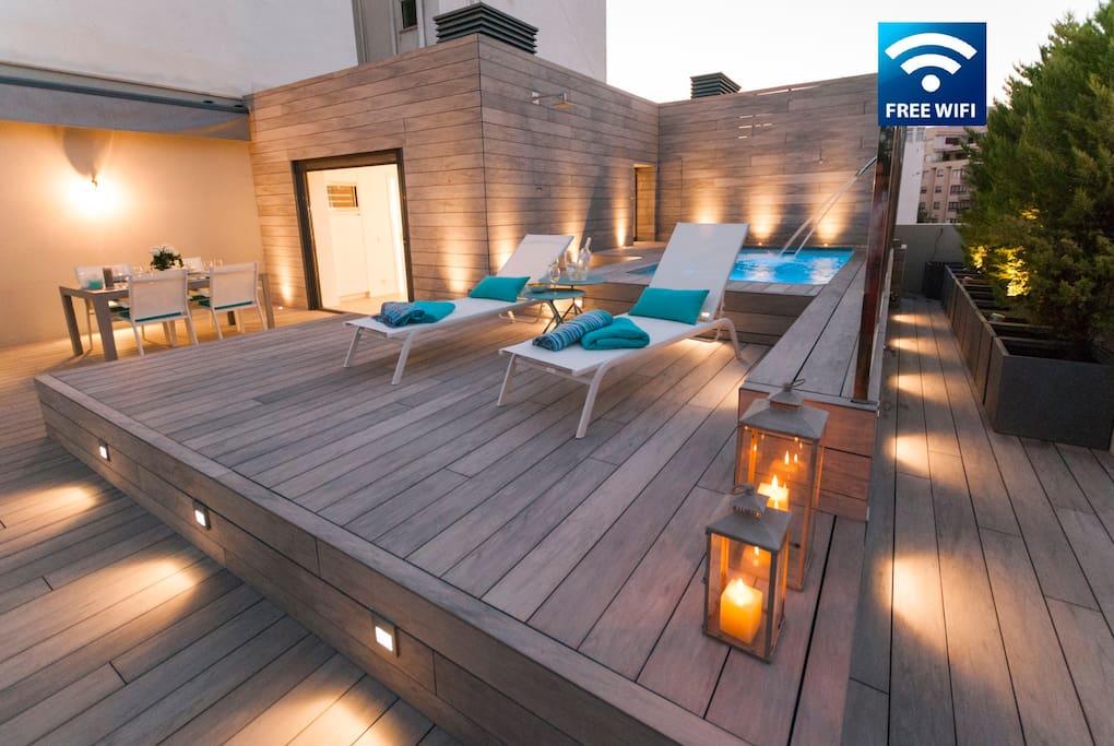Sch ne wohnung in palma mit privatem pool lofts zur for Design wohnung palma