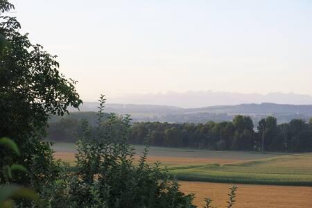Jolie chambre indépendante, vue sur Alpes et lac - Constantine - Casa de huéspedes