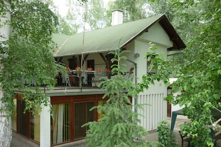 Family villa on Danube river