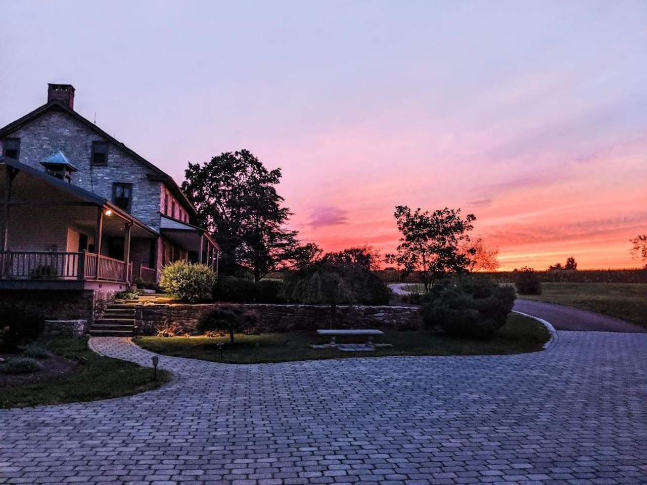 Take the opportunity to relax and take in the sunset from the front porch in the evenings, or have coffee on the back porch and watch the sunrise in the morning.