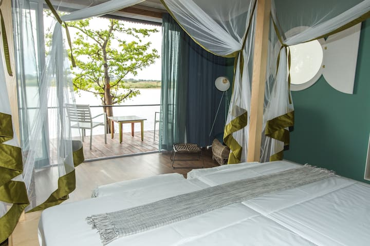 Twin Room - Zambezi Mubala Lodge