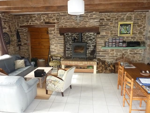 Maison en Brocéliande