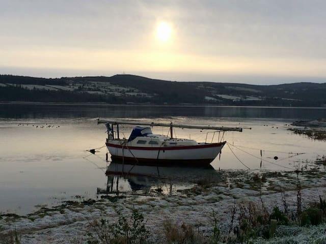 Black Isle - Firth views - rural retreat near city