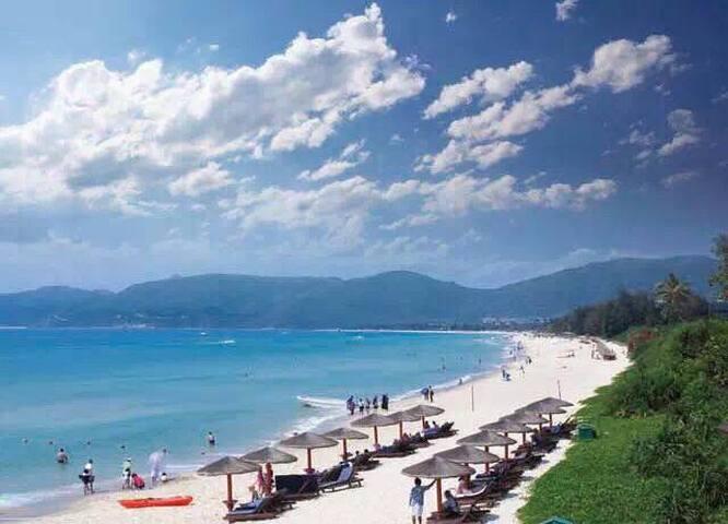 [岭南云峰]度假公寓酒店!精装修3室一厅的!沿江海陵岛十里银滩旅游度假区恒大海上夏威夷。