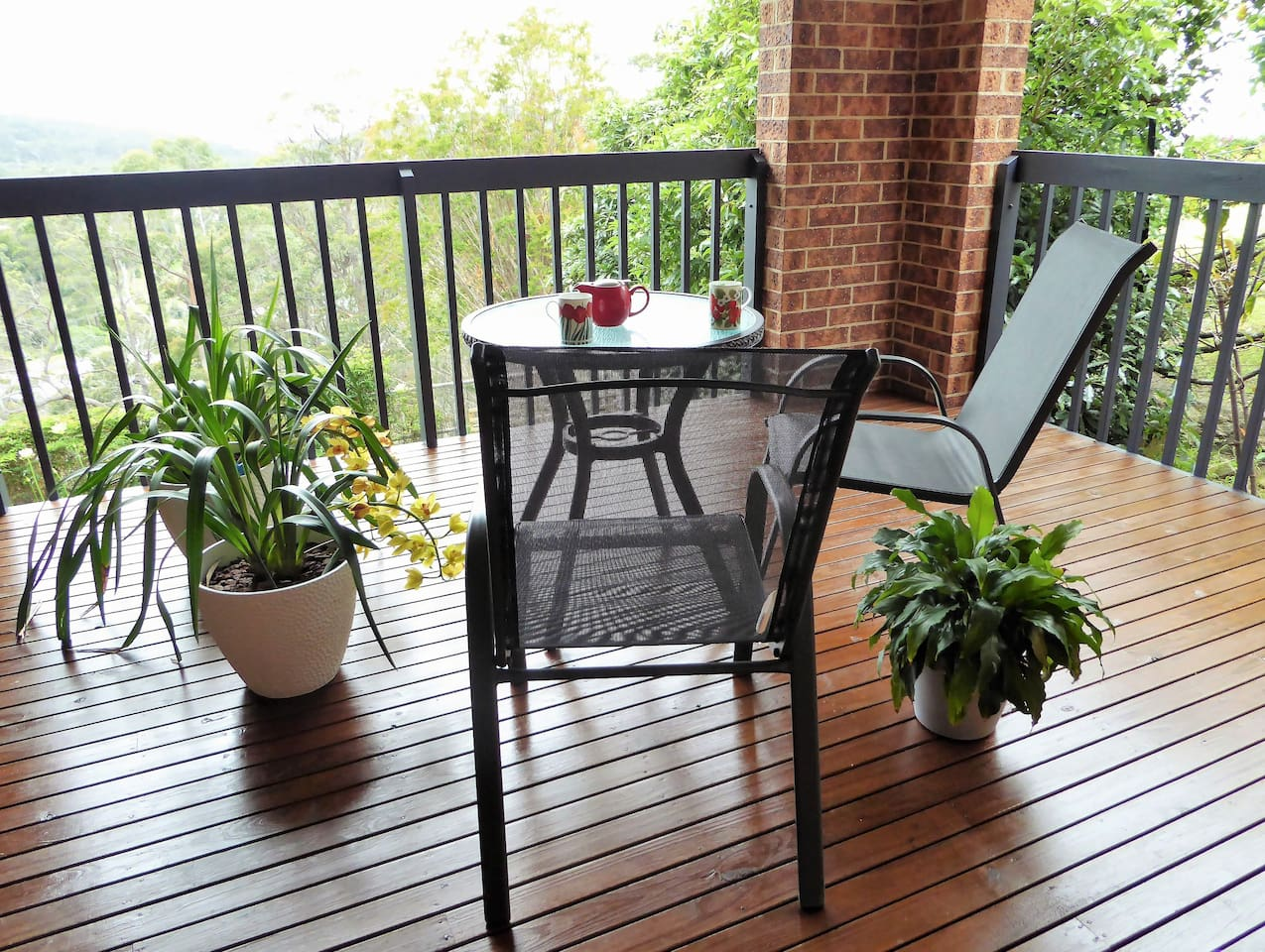 Your own private deck to enjoy!