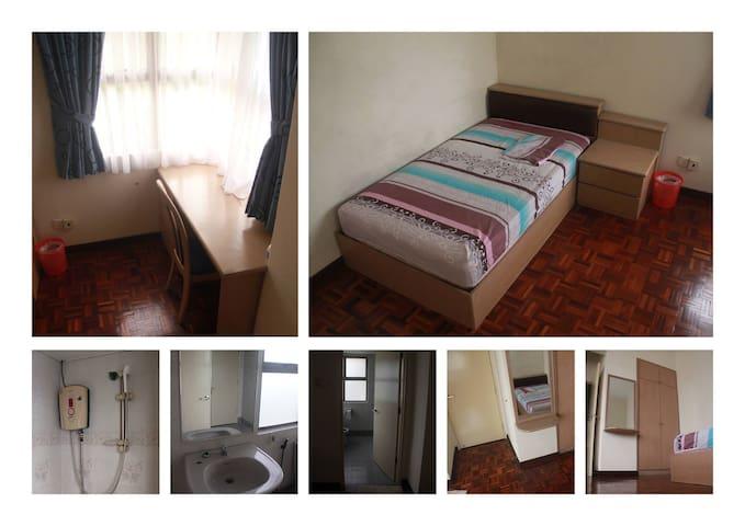 Single Room@Near Sunway Pyramid, Bandar Sunway.