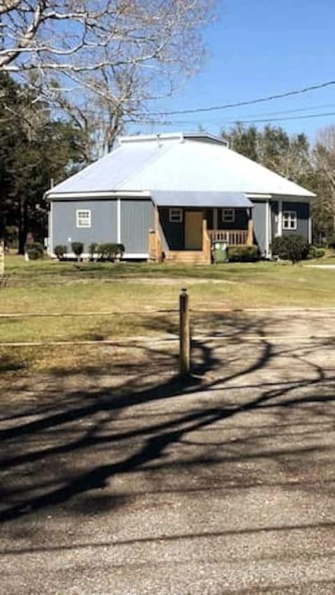 Octagon Cottage is a very unique shape home.