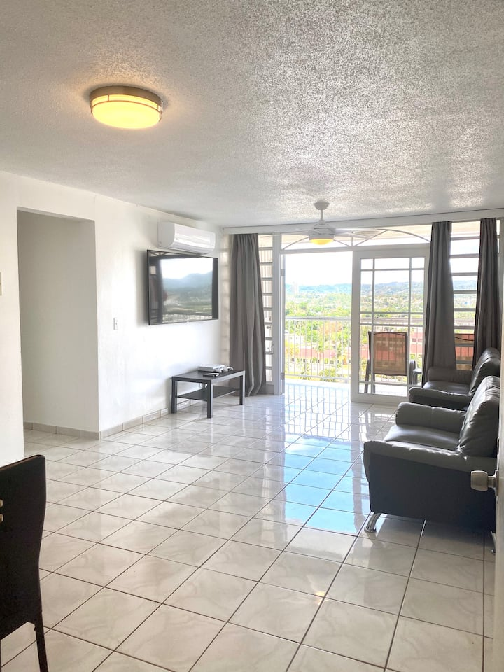 Spacious San Juan Apartment with City View & Pool!