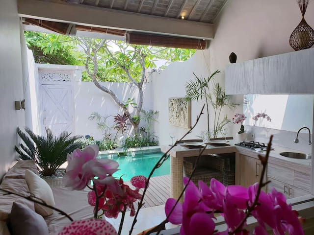 Romantic Pool Villa In Seminyak (FREE SCOOTER )