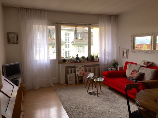 Cosy Flat in Town just by the Lake - Zurych - Kondominium