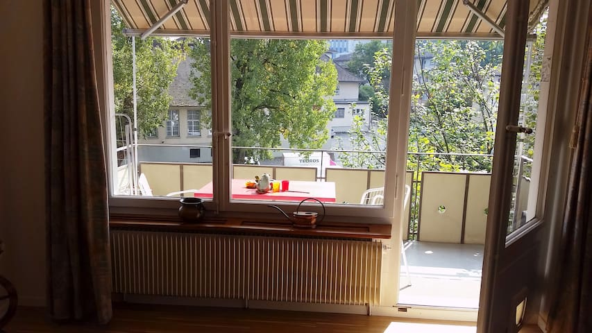 Super cozy Flat in quiet neigborhood of Bern - Ostermundigen - Apartment