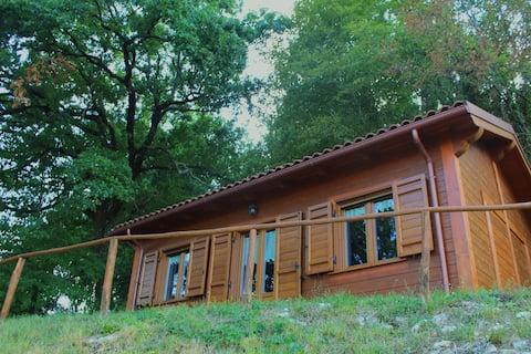 Hütte im Herzen des Heiligen Tals