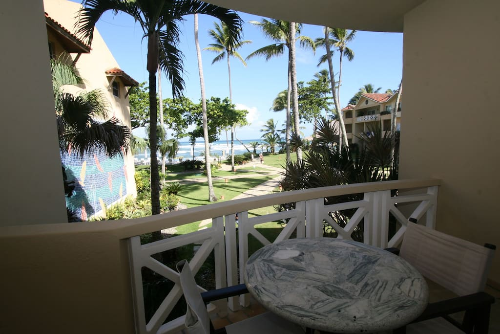 All rooms face the ocean! and include a spacious patio or balcony.