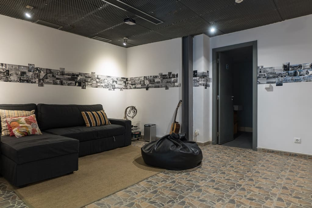 Sala - Living Room with Movie Screen