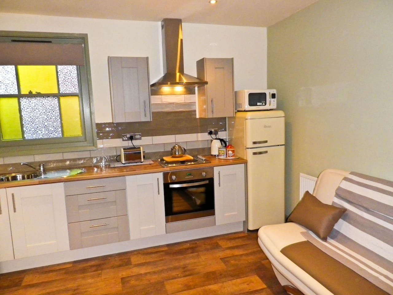 Refurbished Kitchen/dining living space