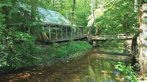 Cabin on Honeycomb Creek
