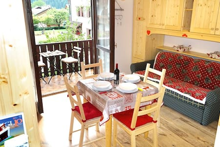 Cozy flat with wifi - 2min from Pinzolo cablecars - Carisolo