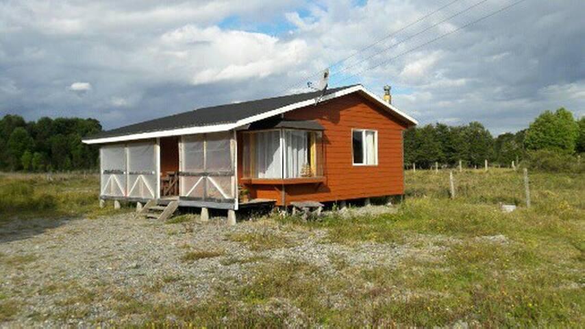 Cabaña independiente cercana a Puerto Montt