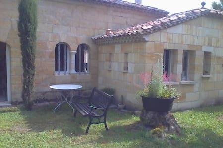 Maison pierre au coeur du vignoble à Saint Emilion - Saint-Émilion - Rumah