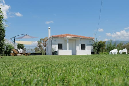"House in front of the beach. ""Lefko"""