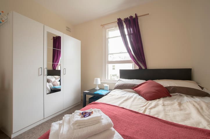 Large double room in a warm house