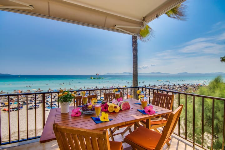 Fragata: Schönes Apartment-perfekter Strandurlaub! - Muro - Huoneisto