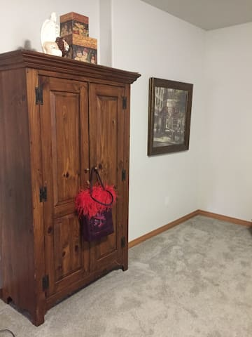 Armoire in Second bedroom