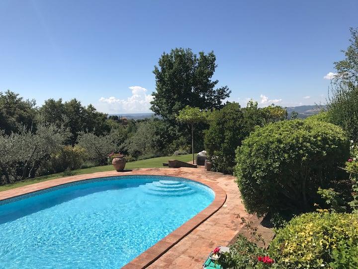 Romantic villa, wine & olive estate