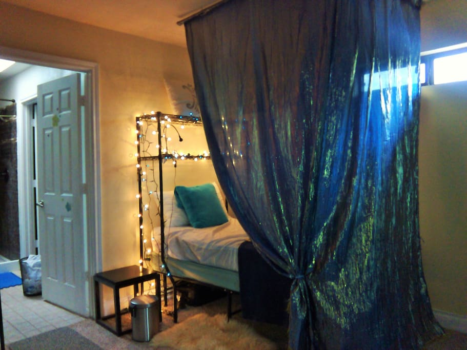 Lovely, shared (3 woman) bedroom w/ensuite bathroom.