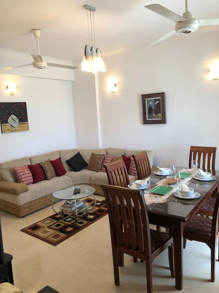 Apartment -  2 Room ( 3 Beds) up-to 6 months rent