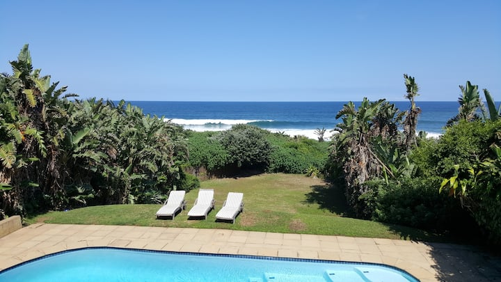 Direct Beach Access.  Large swimming pool