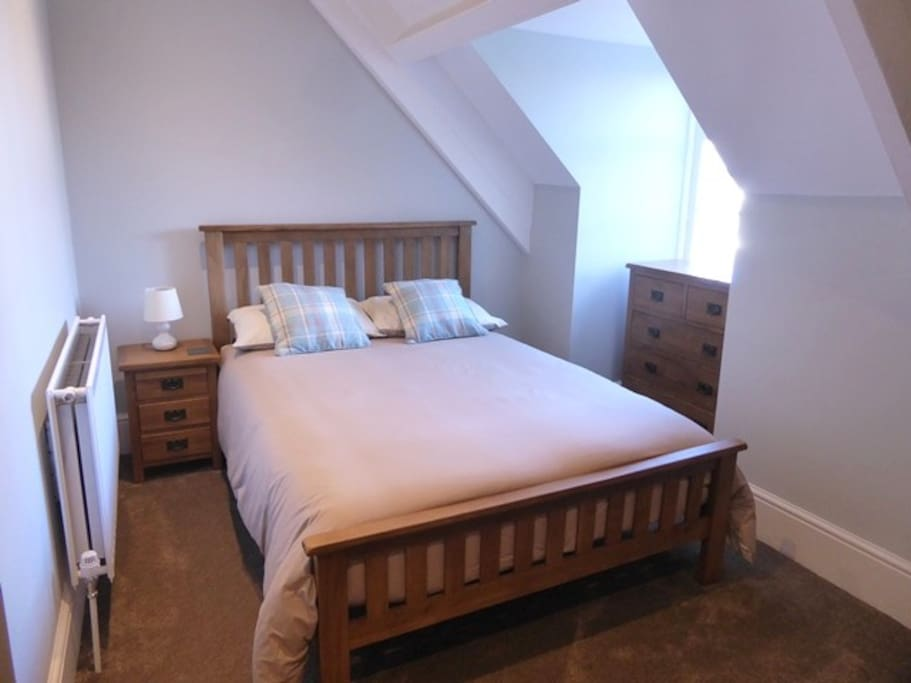 The main bedroom with one double bed