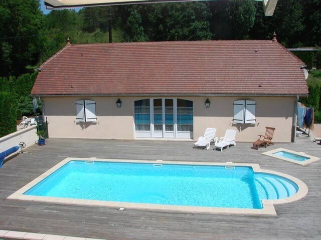 Pavillon indépendant tt confort piscine chauffée - Marigny - Talo