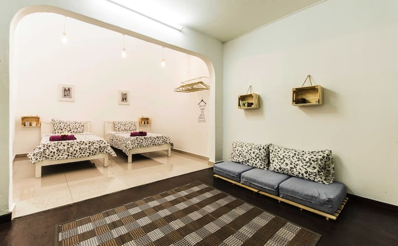 Third floor room special for kids but adults will like it also :) With new airconditioning (April 2018)