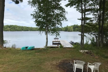 Tomahawk  Lakefront Home