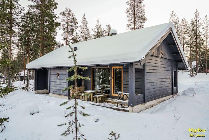 Lomamökki Ylläsjärvellä. - Ylläsjärvi - Haus