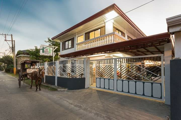 A 2-storey hostel 5 mins. walk away from Calle Crisologo Vigan City.  It has 5 huge rooms with 2 living rooms (ground and first floor),a terrace too.  Each room w/ own private bathrooms, w/ kitchen and a dining room,parking free, AC and a wifi access
