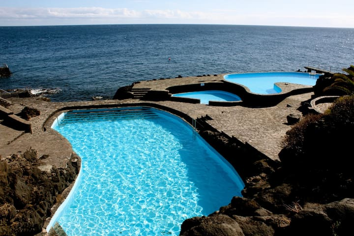 Apartment on the Island of El Hierro, near the sea - La Caleta - Leilighet
