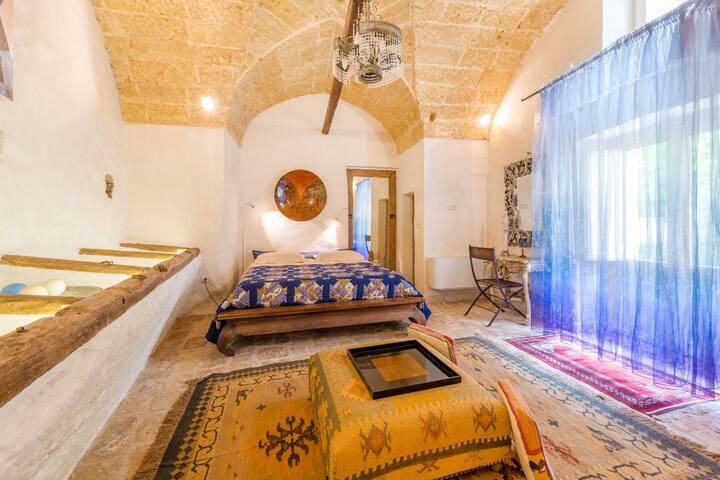 Camera in Antico Palazzo a 3 km dal mare - Salve