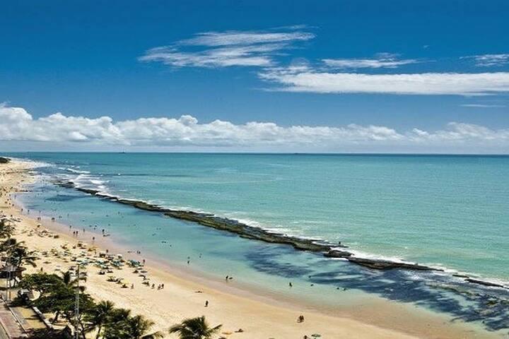 Estúdio Mobilíado em Boa Viagem  beach c/ piscina