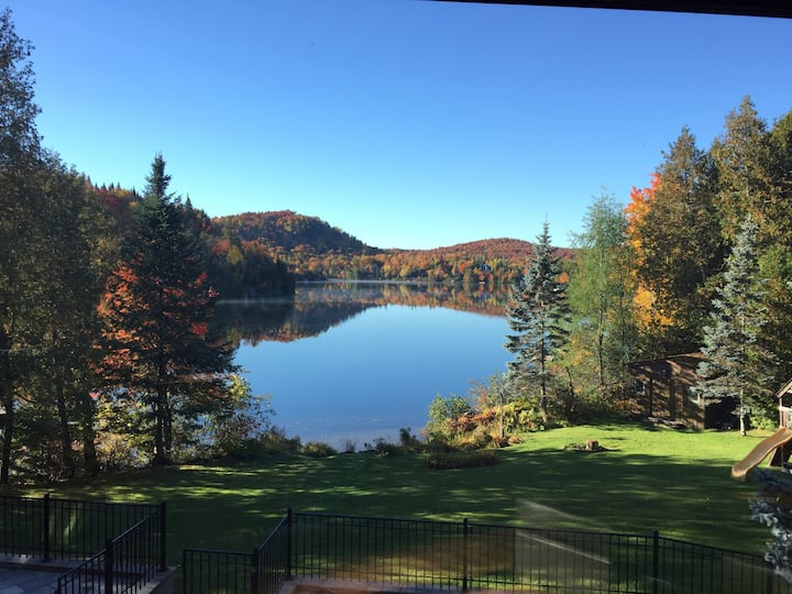 Laurentides Lake House 6 bed w/pool #chaletparadis