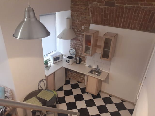 Двухуровневая однокомнатна квартира - L'viv - Apartment