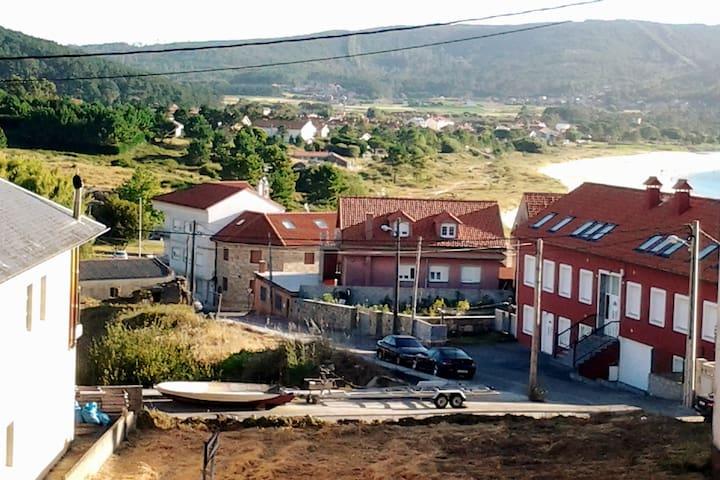 San Roque desde la ventana del apartamento