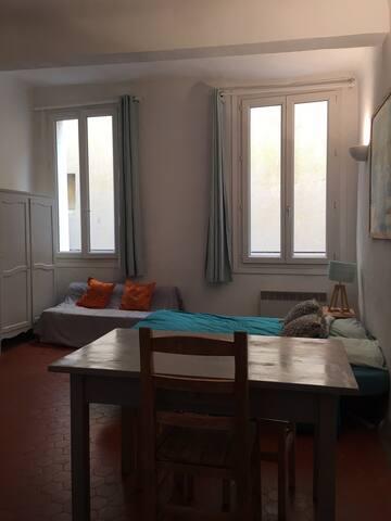 Appartement typique au cœur d'Aix en Provence