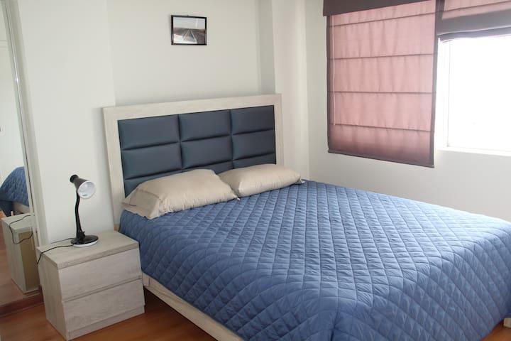 Apartamento cómodo y tranquilo.