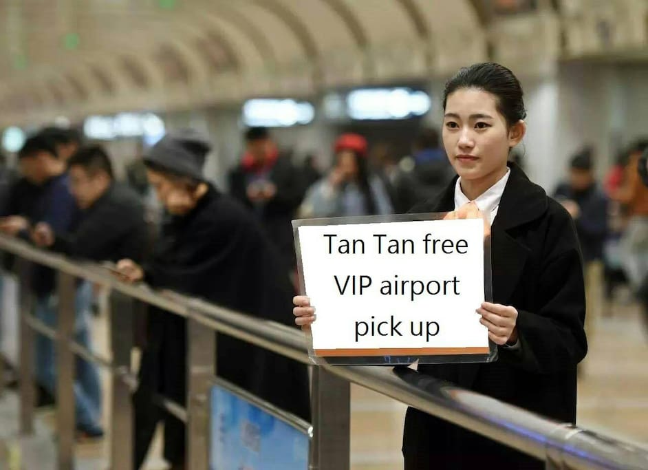 book 4 night for vip airport pick up service