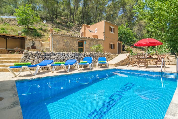 CAN CAPET - Villa with private pool in Andratx.
