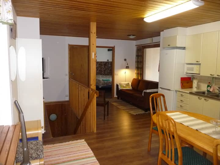 Cozy apartment in a peaceful area near city center