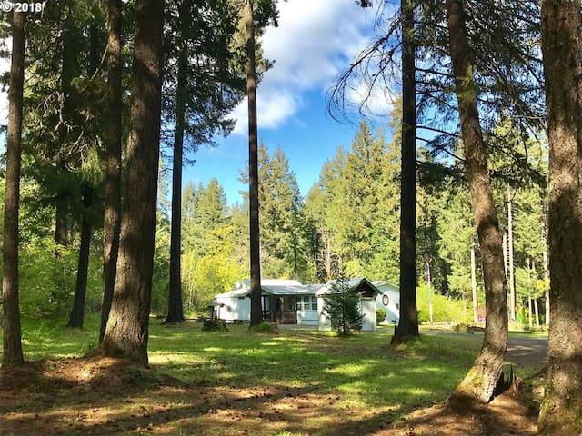 White Salmon River House
